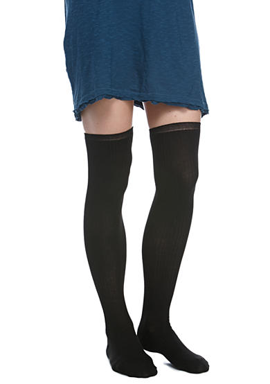 Free People Lurex Over The Knee Sock