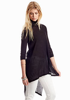 Free People Wonder Woman Mock Neck Top