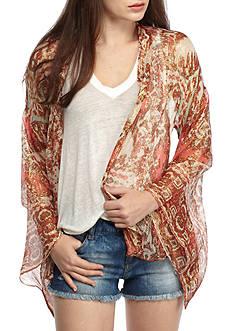 Free People Fluer De Lis Kimono