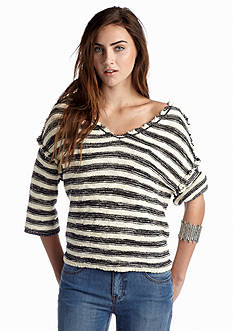 Free People Trouble Striped Pullover