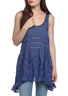 Free People Voile Lace Slip