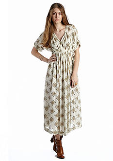 Free People Printed Oasis Maxi Dress