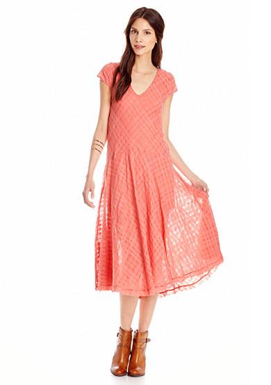 Free People Priscilla Midi Dress