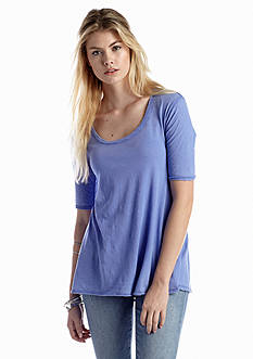 Free People Melrose Elbow Sleeve Tee