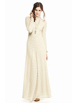 Free People White River Maxi Dress