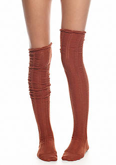 Free People Fray Pointelle Socks