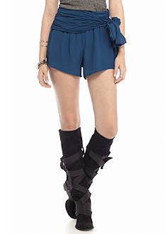 Free People Extreme Wrap Solid Shorts