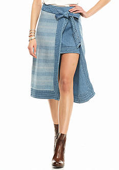 Free People Double the Fun Skirt