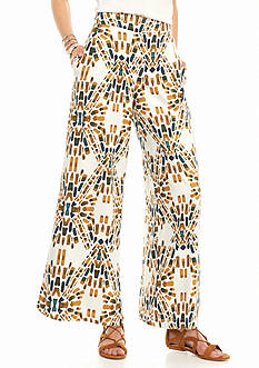 Free People Over and Under Wide Leg Pants