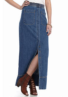 Free People Just a Dream Denim Skirt