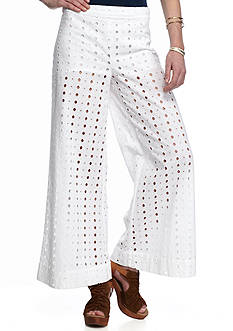 Free People Helena Eyelet Pants