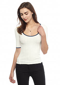 Free People Long Drive Tee