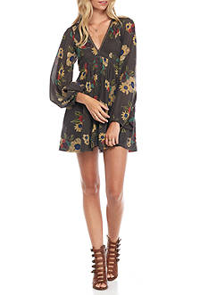 Free People Strawberry Fields Mini Dress