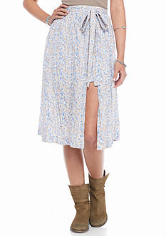 Free People Love Train Printed Skirt