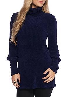 Free People New Moon Tunic Turtleneck Sweater