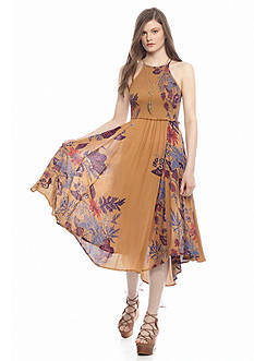 Free People Seasons In The Sun Slip Dress