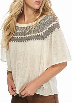 Free People Flutter Sleeve Sweater