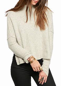 Free People Artic Fox Zip Back Sweater
