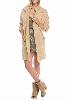 Free People Wild Thing Sweater Coat