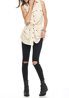 Free People Too Far Tunic