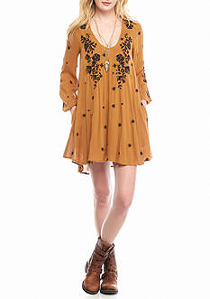 Free People 0816 SWEET TENNESSEE EMB DRESS