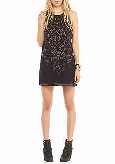 Free People Mandala Shift Mini Sleeveless Dress