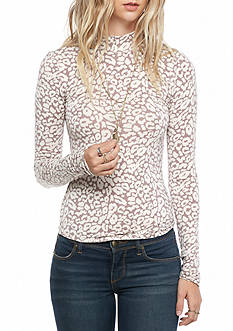 Free People Chocolate Top