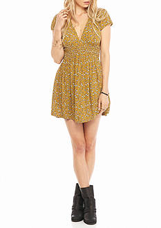 Free People Pretty Baby Printed Dress