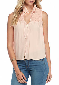 Free People Ruffle Me Up Top