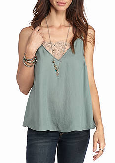 Free People Deep V Bandeau Cami