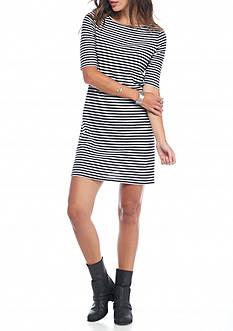 Free People Frenchie Stripe T-Shirt Dress
