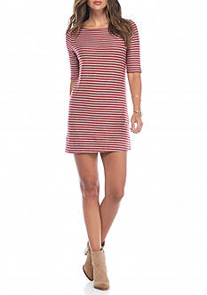 Free People Frenchie Stripe T-Shirt Dress