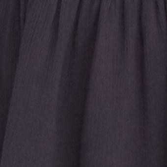 Gray Womens Tops: Dark Grey Free People One Night Victorian Top