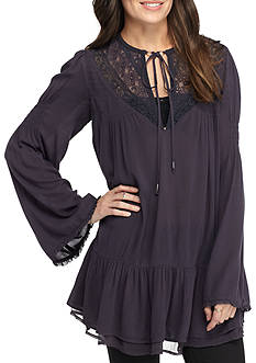 Free People One Night Victorian Top
