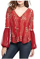 Free People Women's Plus Firecracker Red Emblem