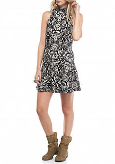 Free People Amelia Knit Mini Dress
