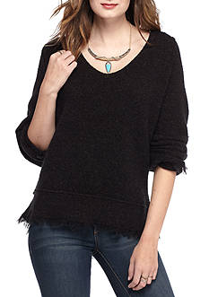 Free People Irresistible V-neck Sweater