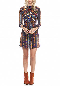 Free People Stella Knit Mini Dress
