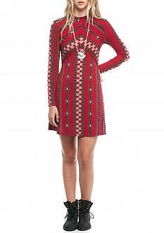 Free People Stella Knit Mini Dress