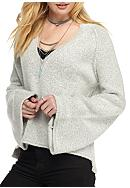 Free People Knit Lovely Lines Pullover