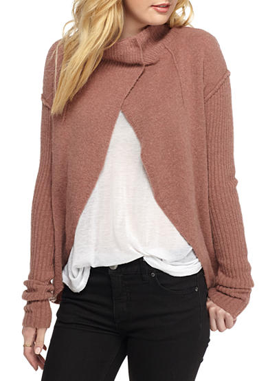 Free People Knit Cascade Cardigan
