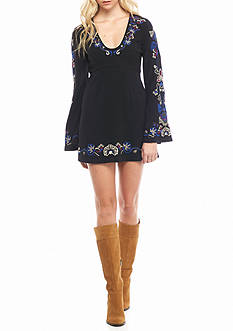 Free People Holiday Frock Mini Dress