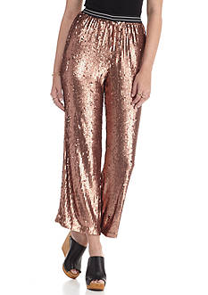 Free People Just a Dreamer Sequin Pants