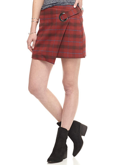 Free People Teenage Crush Tessa Plaid Skirt