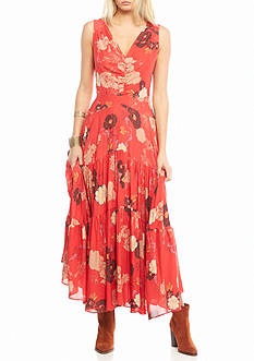 Free People Sure Thing Printed Dress