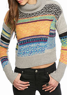 Free People This That Stripe Sweater