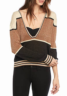 Free People Gold Dust Pullover