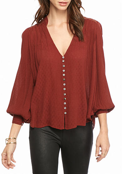 Free People Canton Rose Top