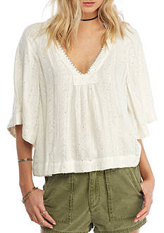 Free People Get Over It Pullover Top