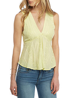 Free People Twist And Shell Top